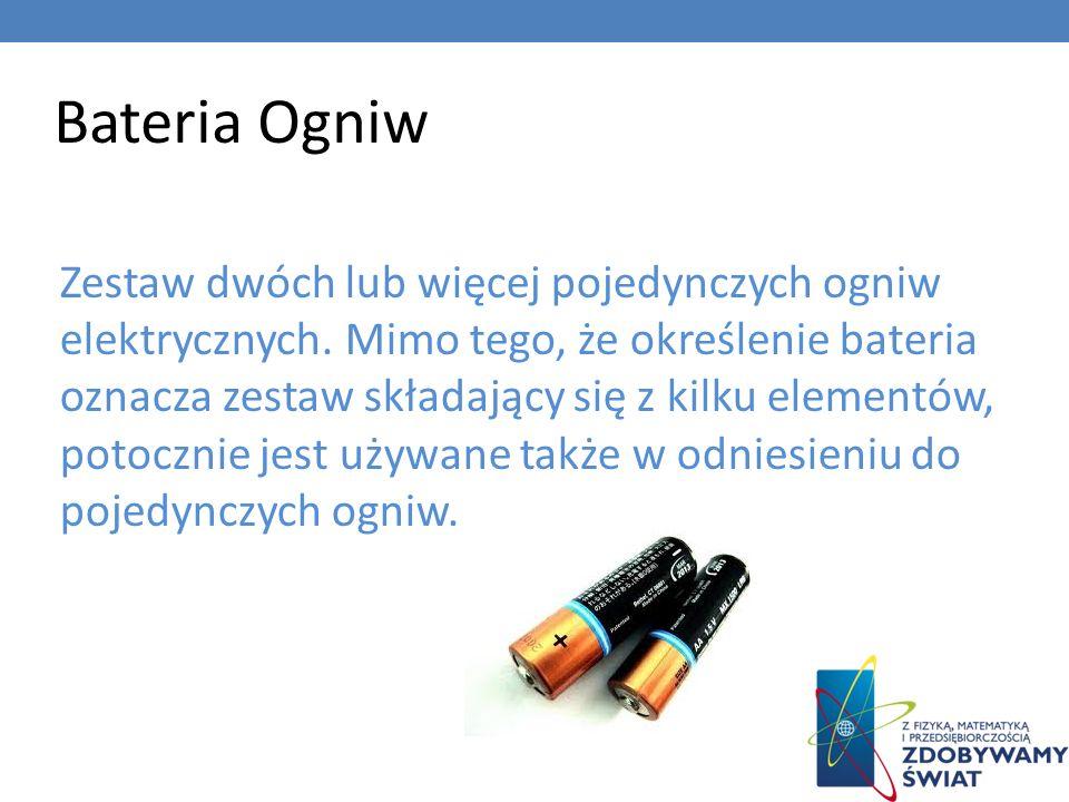 Bateria Ogniw