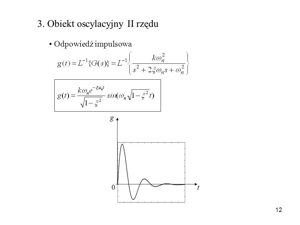 3. Obiekt oscylacyjny II rzędu