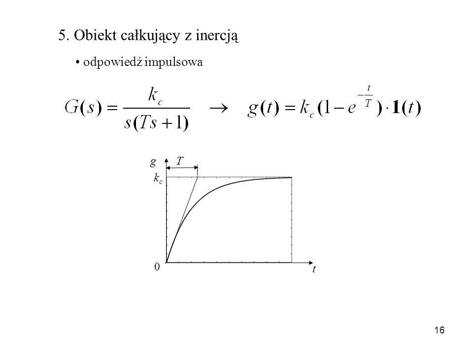 5. Obiekt całkujący z inercją