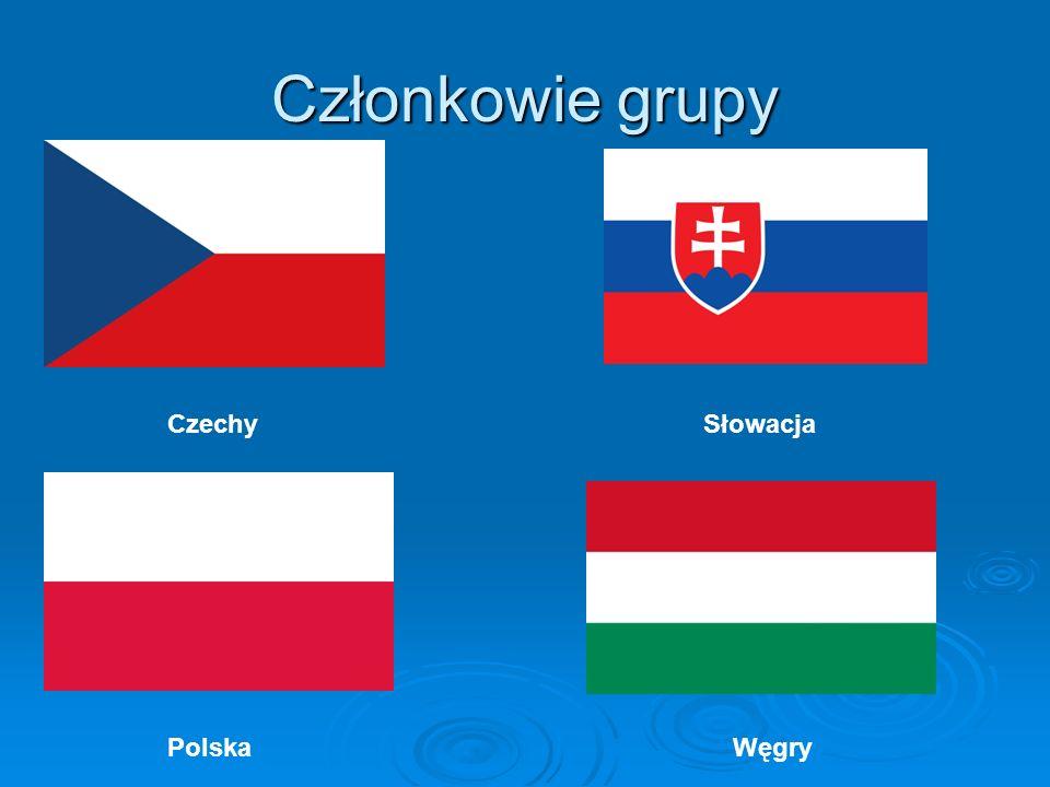Członkowie grupy Czechy Słowacja.