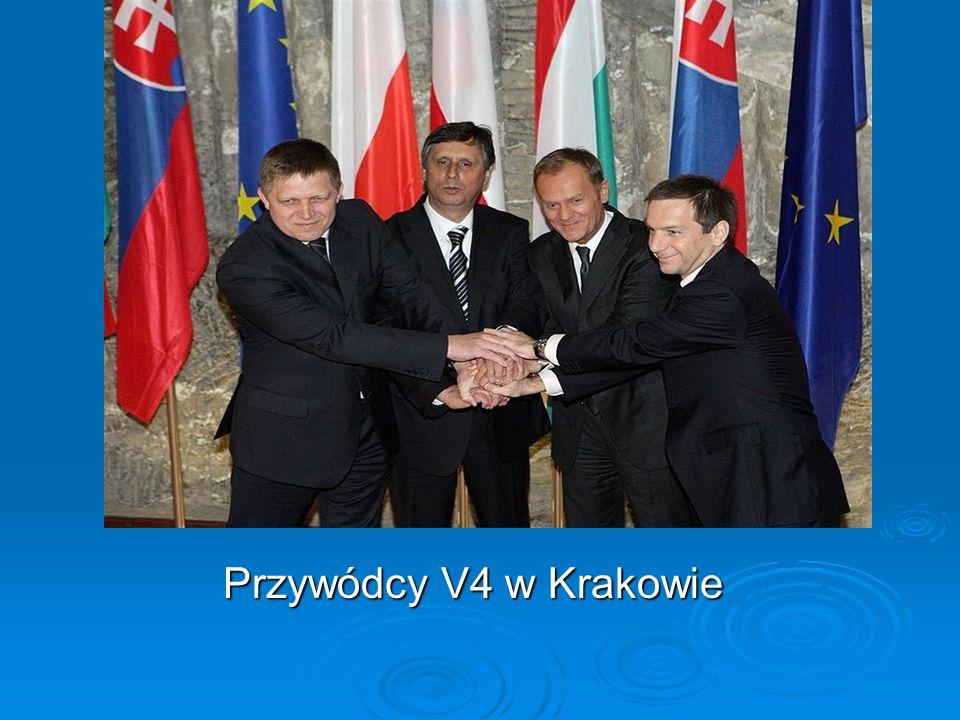 Przywódcy V4 w Krakowie