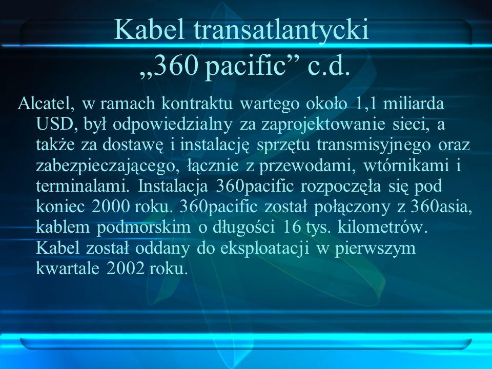 "Kabel transatlantycki ""360 pacific c.d."