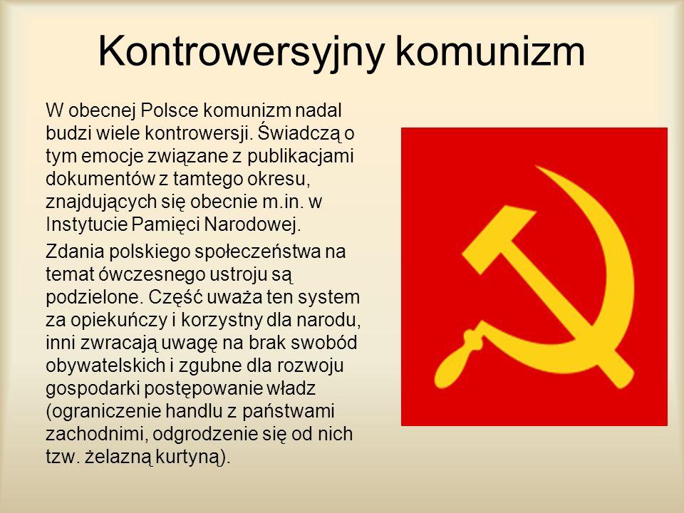 Kontrowersyjny komunizm
