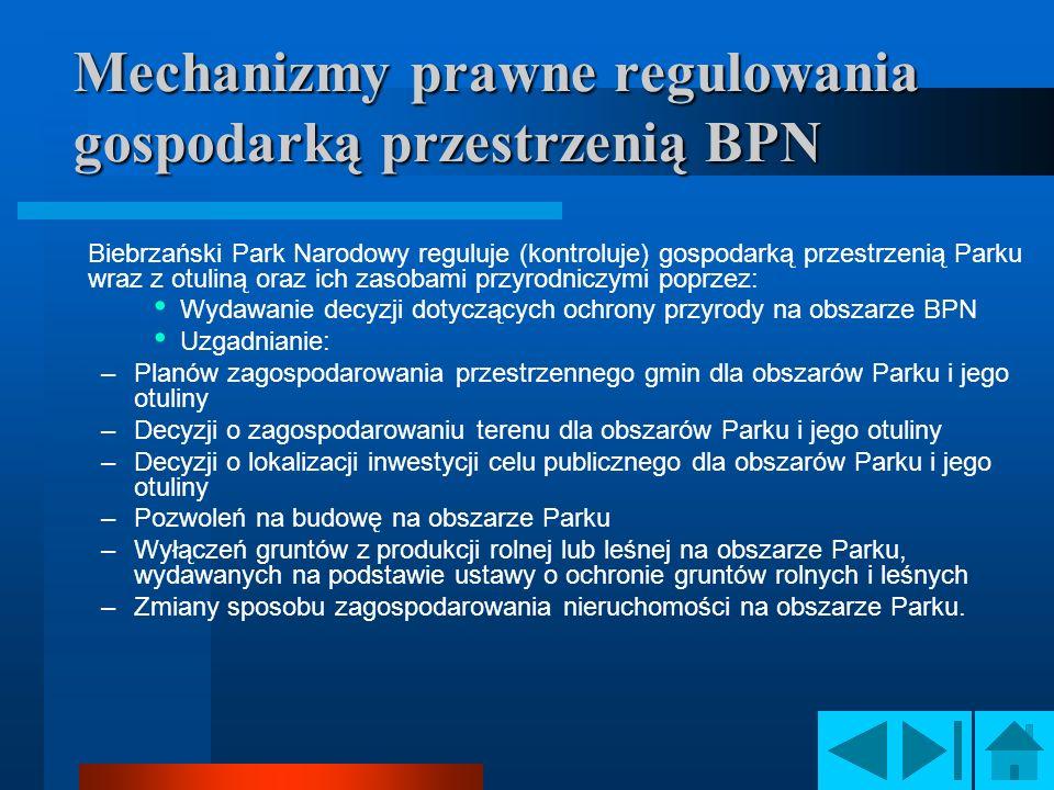 Mechanizmy prawne regulowania gospodarką przestrzenią BPN