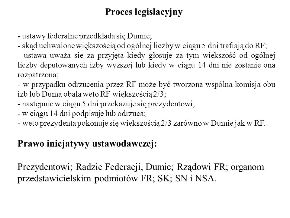 Prawo inicjatywy ustawodawczej: