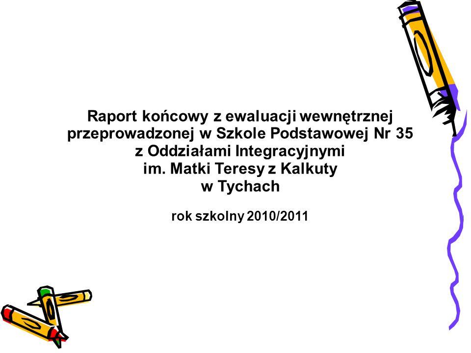 Raport końcowy z ewaluacji wewnętrznej