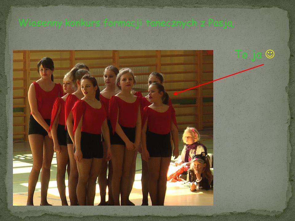Wiosenny konkurs formacji tanecznych z Pasją.