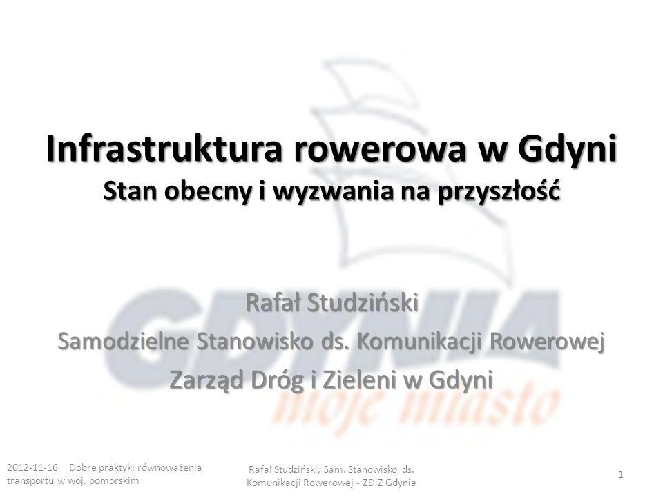 Infrastruktura rowerowa w Gdyni Stan obecny i wyzwania na przyszłość