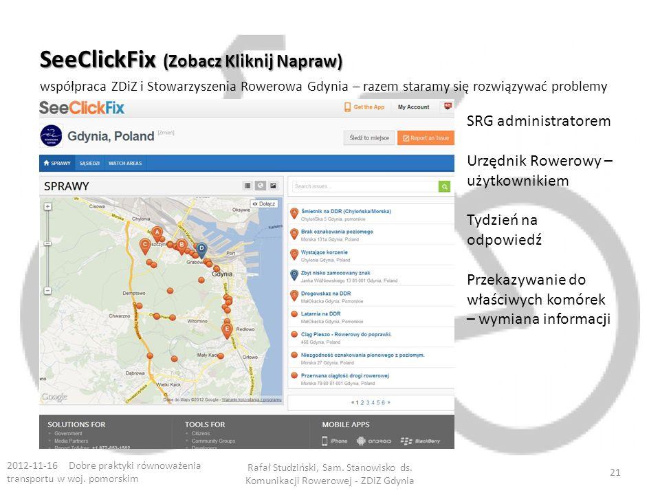 SeeClickFix (Zobacz Kliknij Napraw)