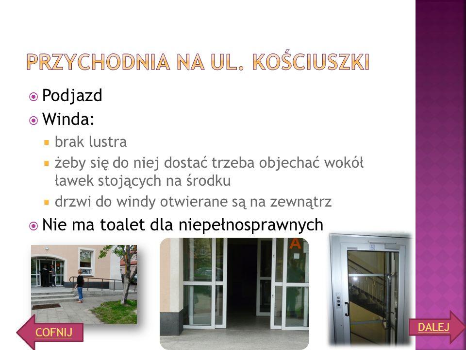 PRZYCHODNIA NA ul. kościuszki