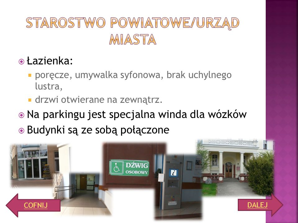 Starostwo powiatowe/urząd miasta