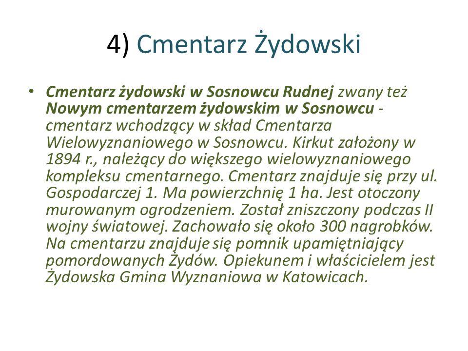 4) Cmentarz Żydowski