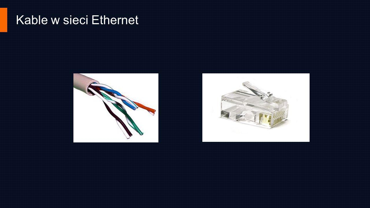 Kable w sieci Ethernet