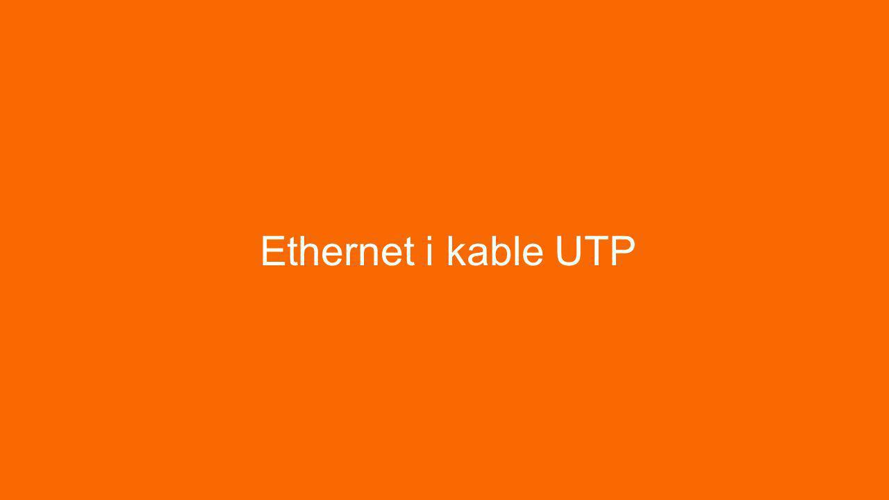 Ethernet i kable UTP