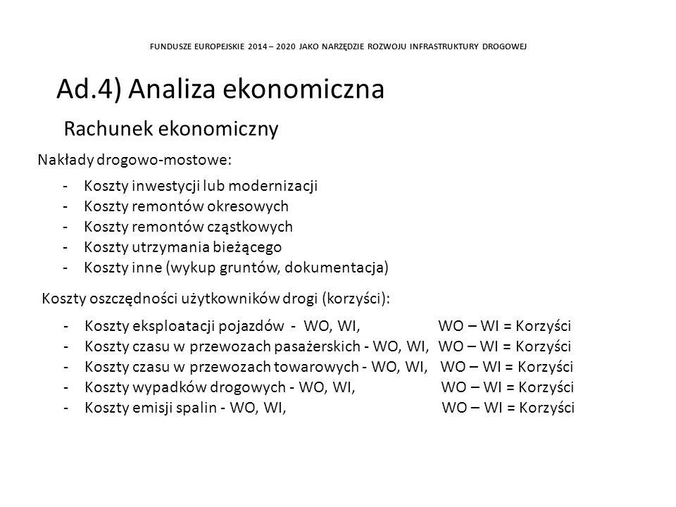 Ad.4) Analiza ekonomiczna