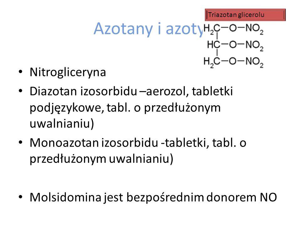 Azotany i azotyny Nitrogliceryna