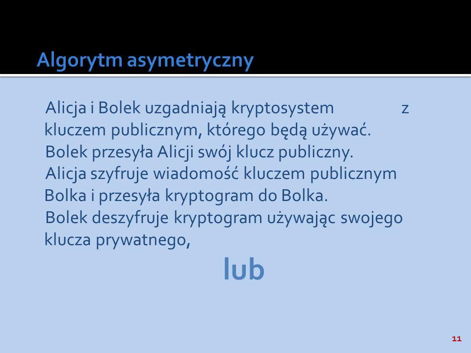 Algorytm asymetryczny