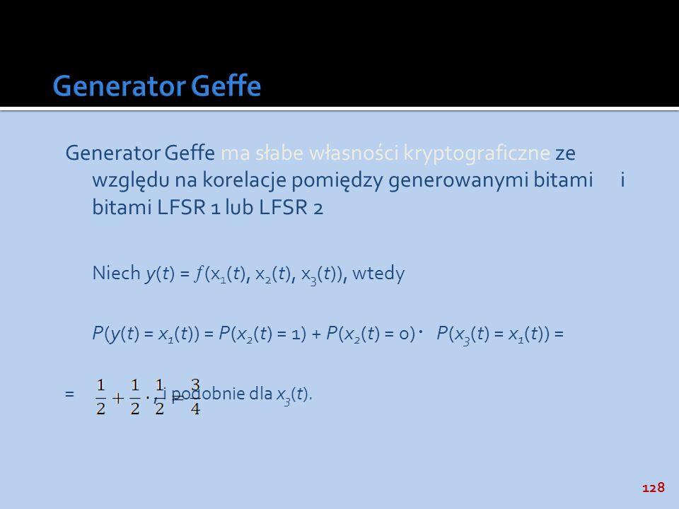 Generator Geffe