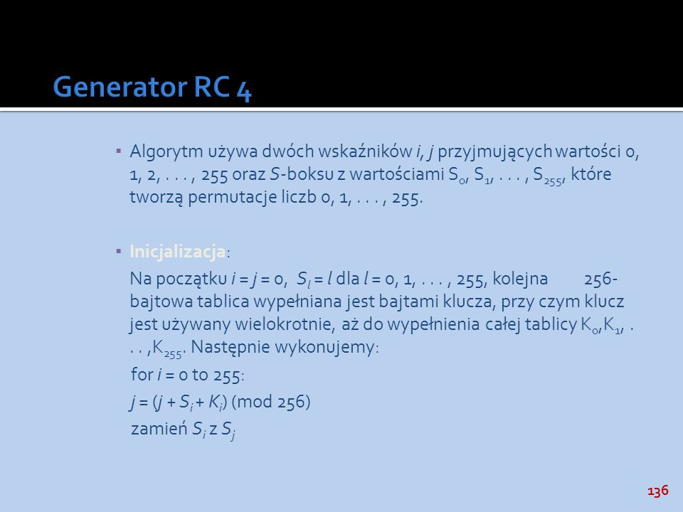 Generator RC 4
