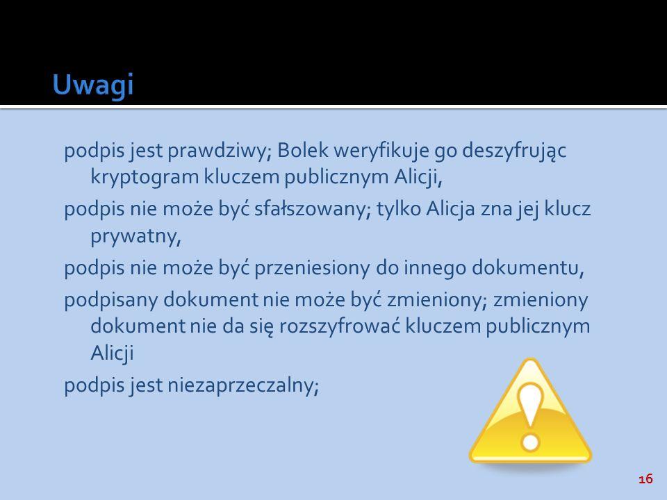 Uwagi