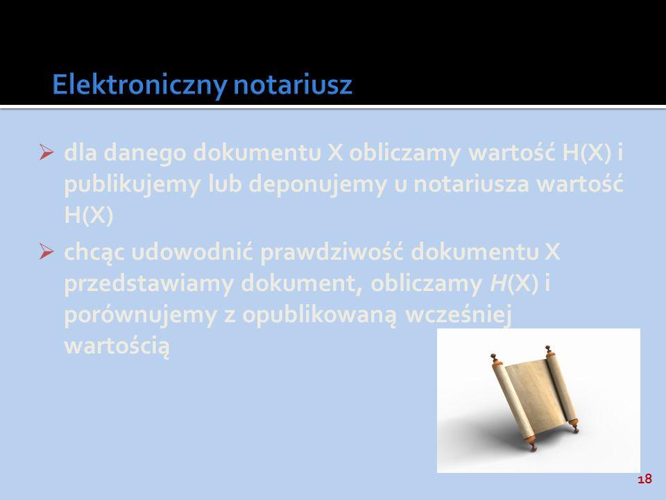 Elektroniczny notariusz