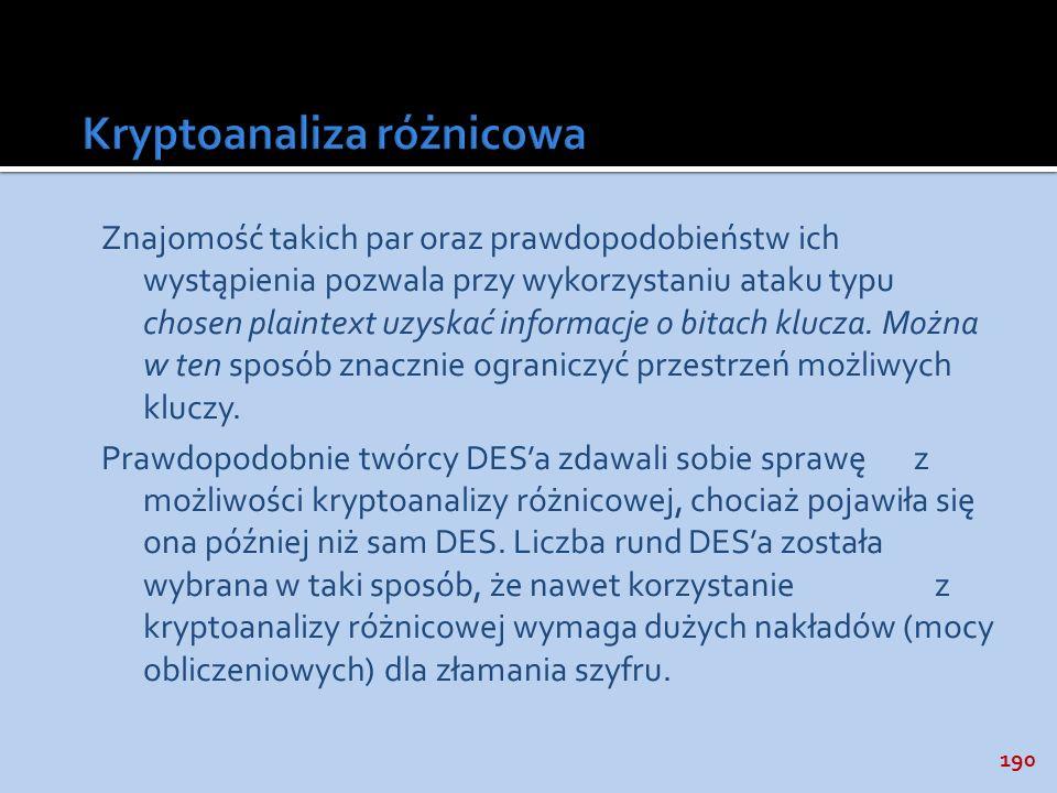 Kryptoanaliza różnicowa