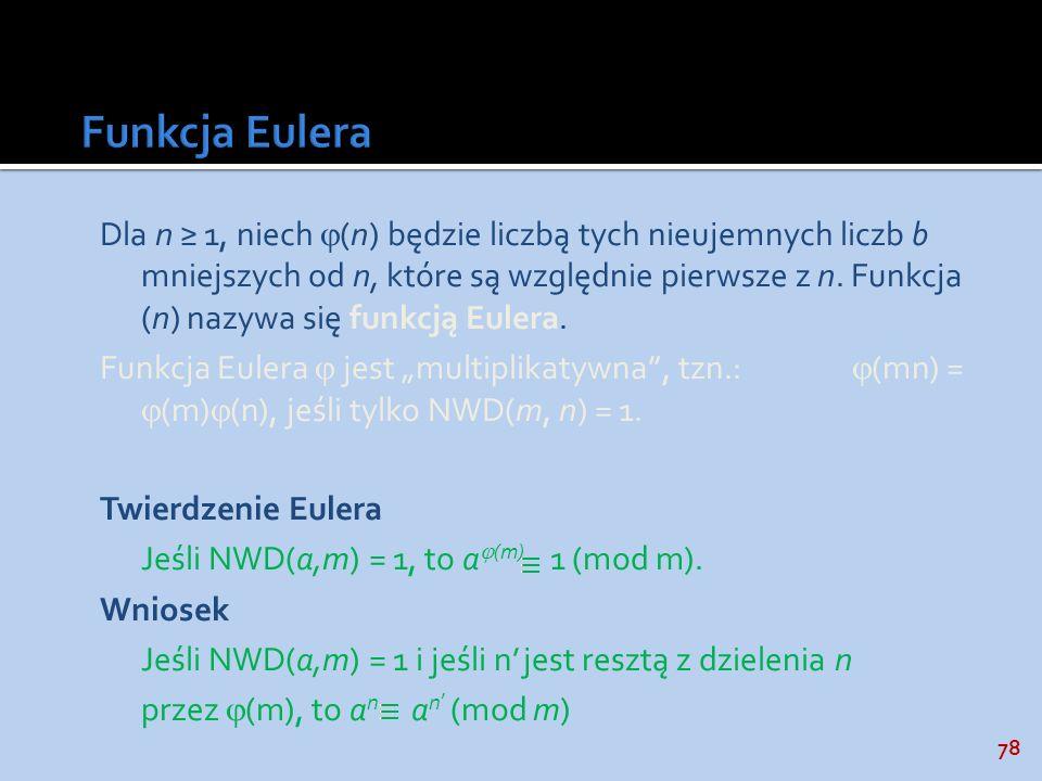 Funkcja Eulera