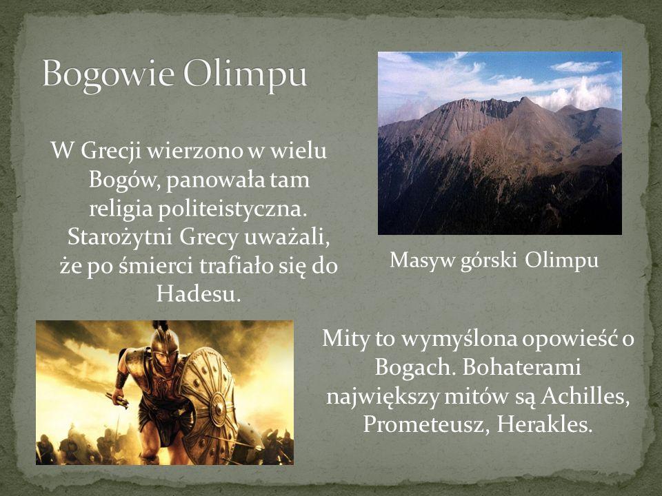 Bogowie Olimpu