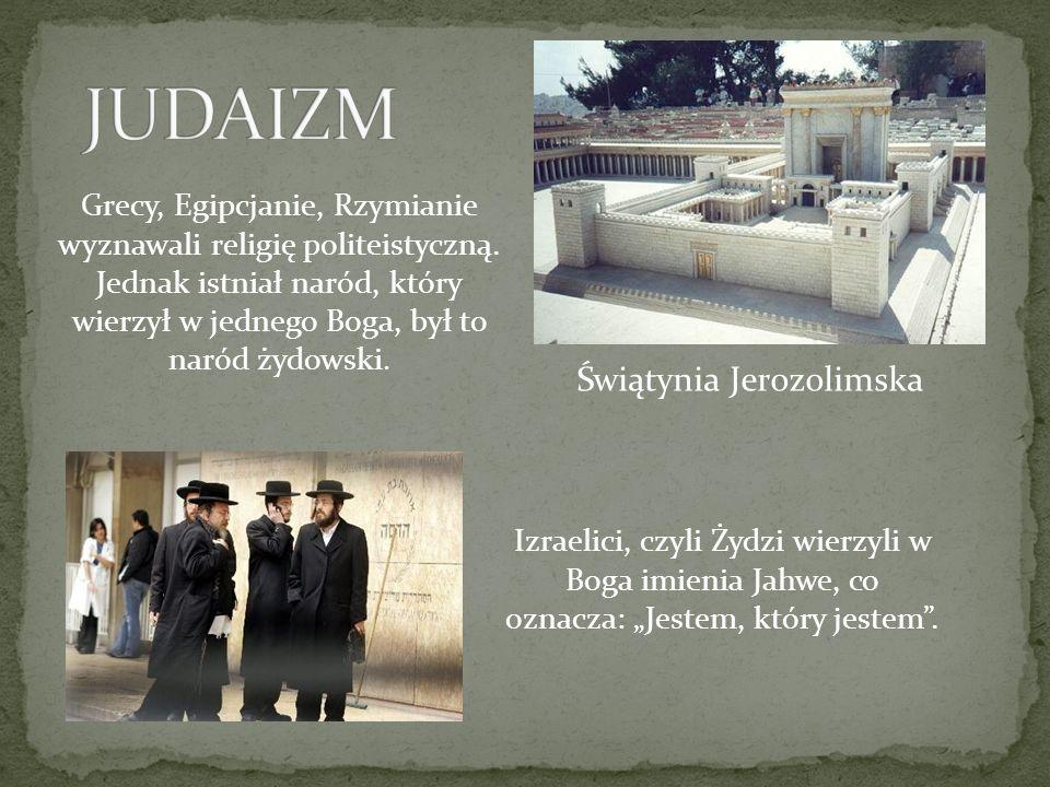 JUDAIZM Świątynia Jerozolimska