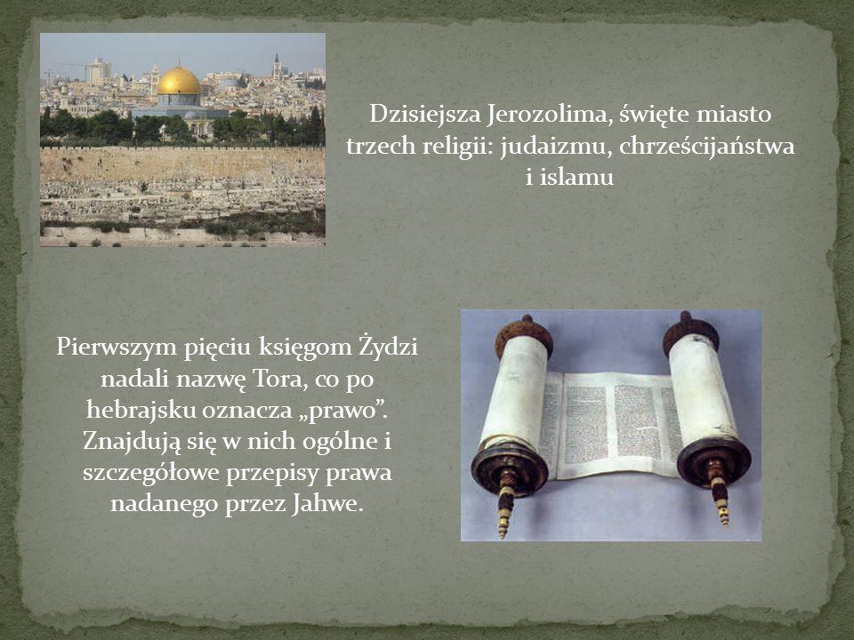 Dzisiejsza Jerozolima, święte miasto trzech religii: judaizmu, chrześcijaństwa i islamu