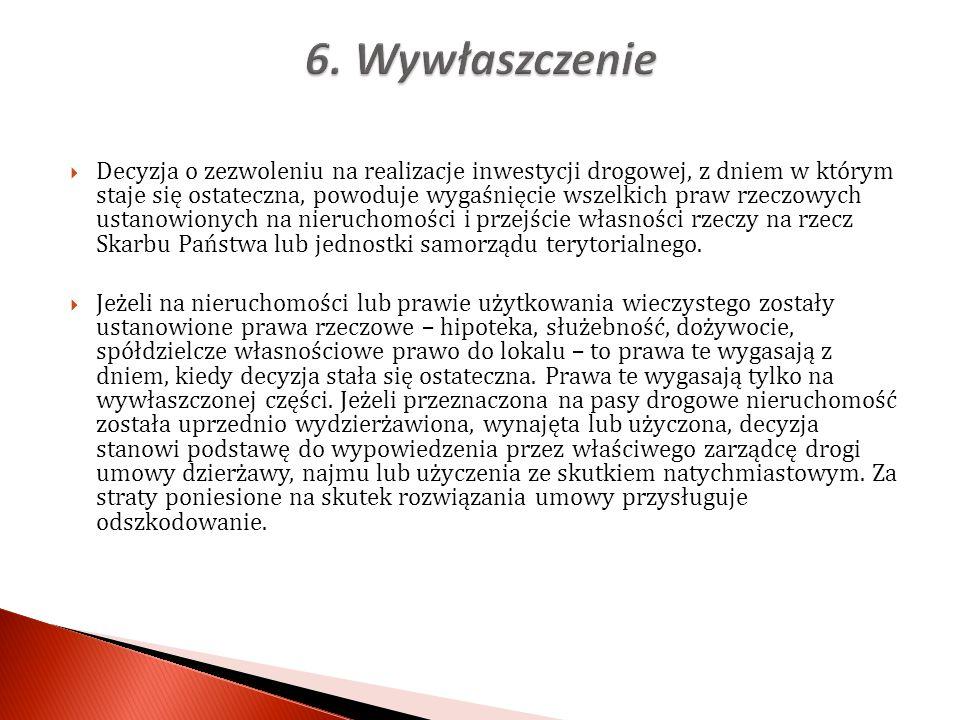 6. Wywłaszczenie