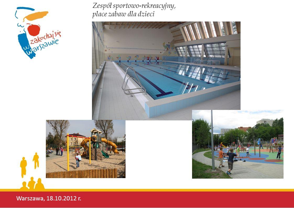 Zespół sportowo-rekreacyjny, place zabaw dla dzieci