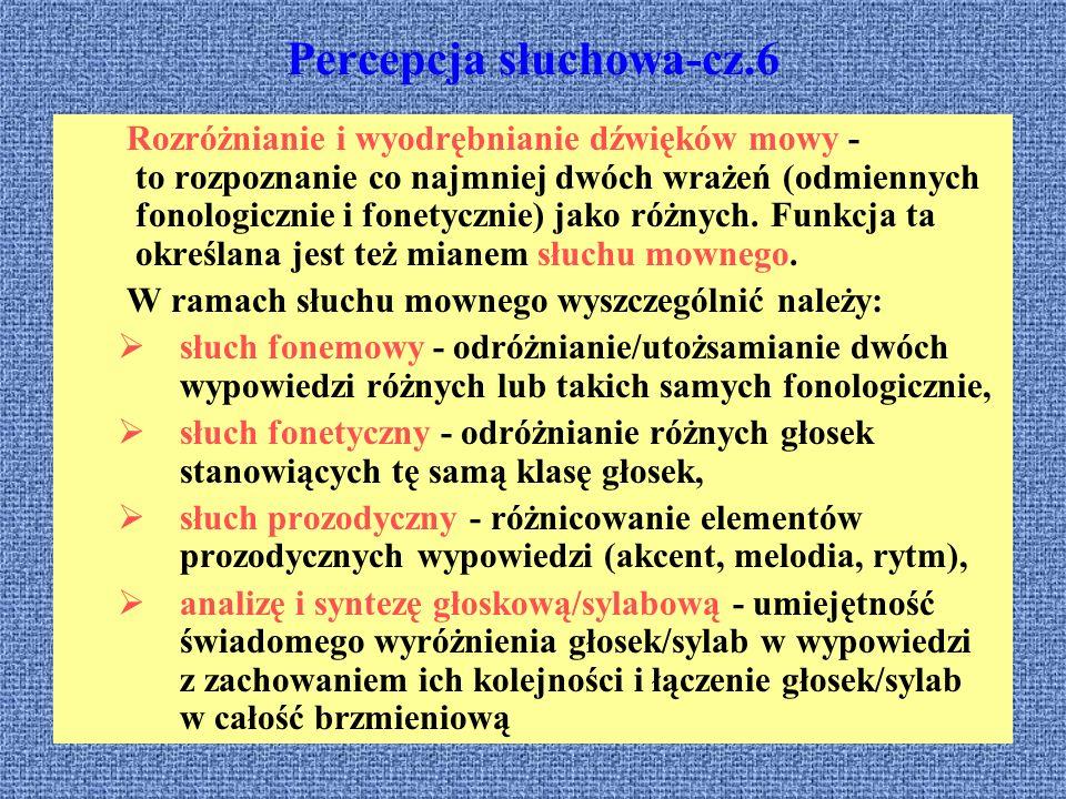 Percepcja słuchowa-cz.6