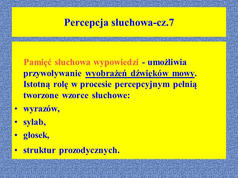 Percepcja słuchowa-cz.7