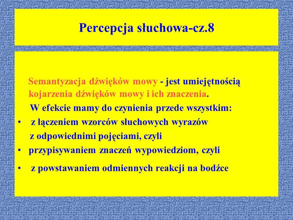 Percepcja słuchowa-cz.8