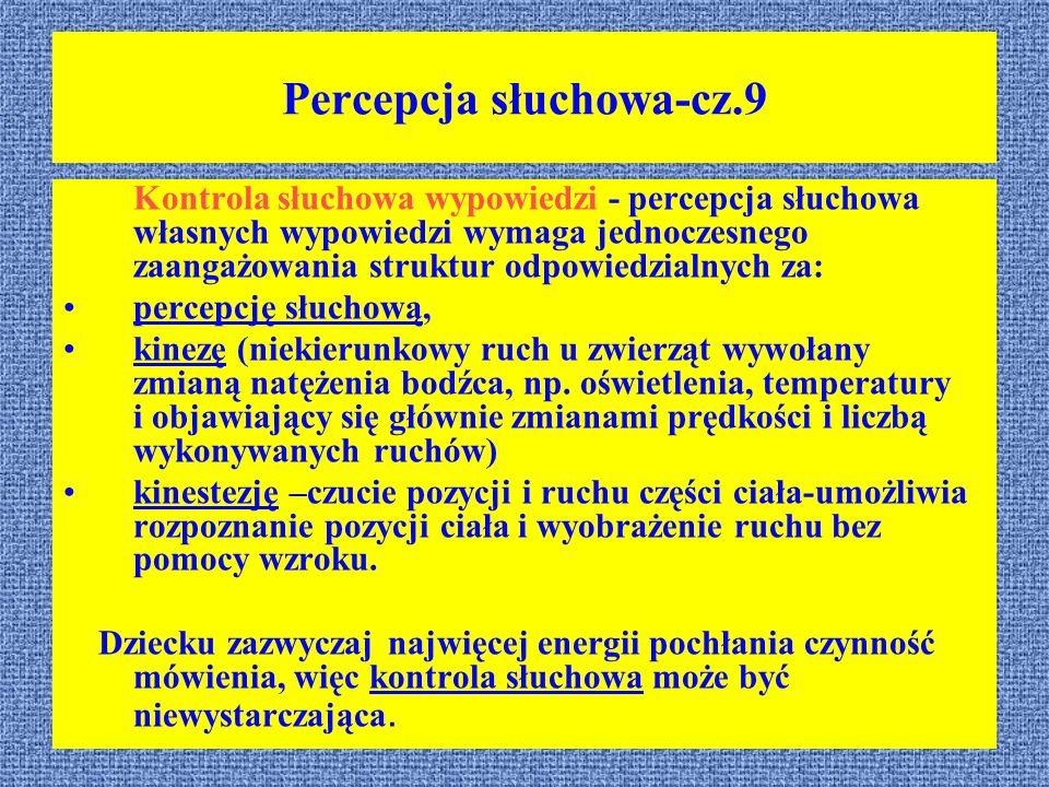 Percepcja słuchowa-cz.9