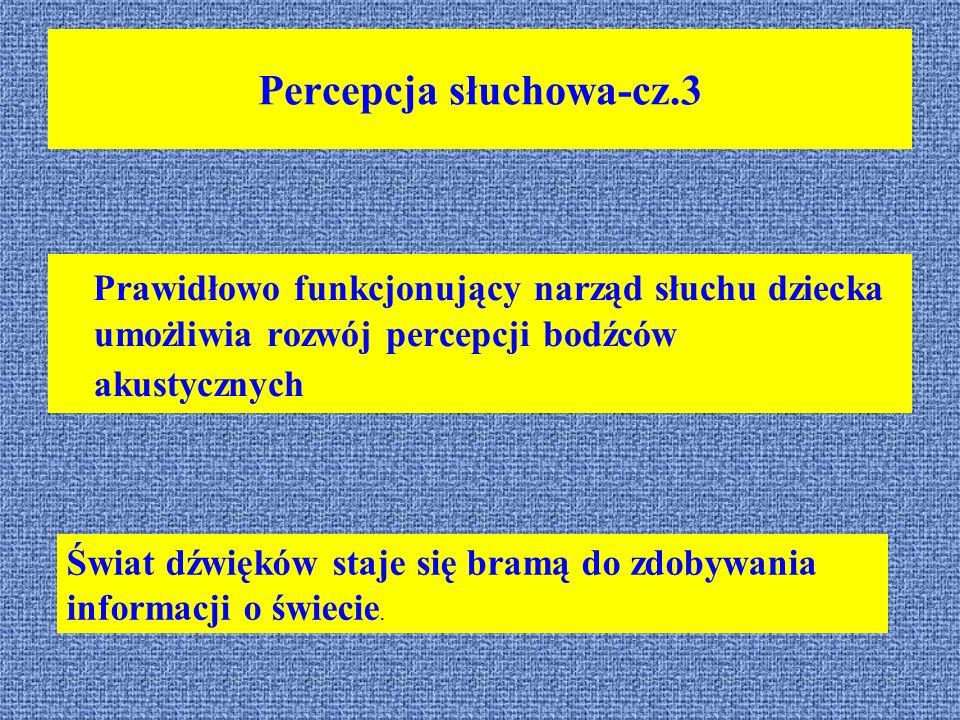 Percepcja słuchowa-cz.3