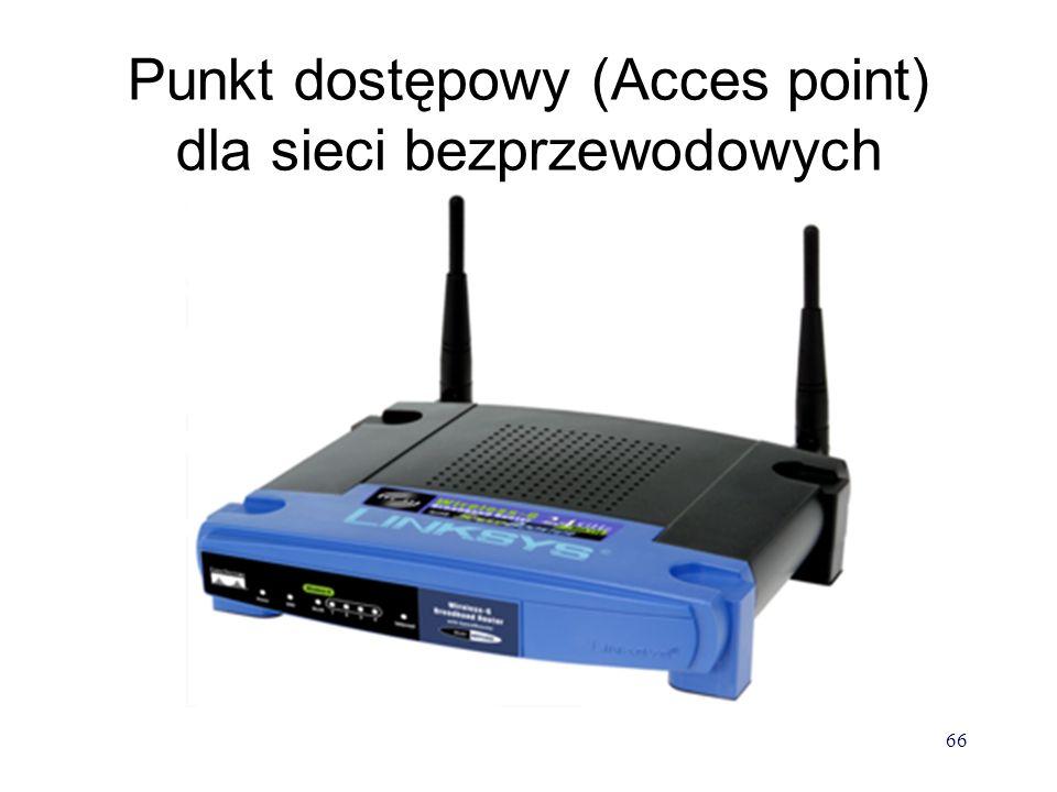 Punkt dostępowy (Acces point) dla sieci bezprzewodowych