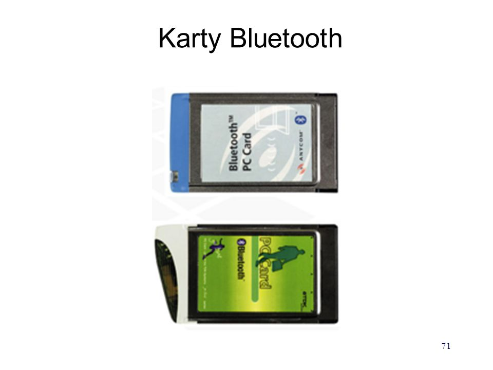 Karty Bluetooth