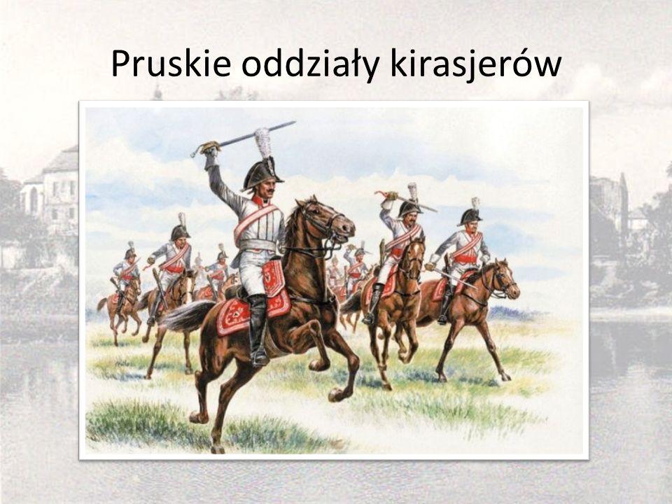 Pruskie oddziały kirasjerów