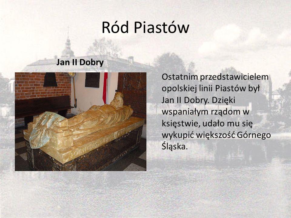 Ród Piastów Jan II Dobry