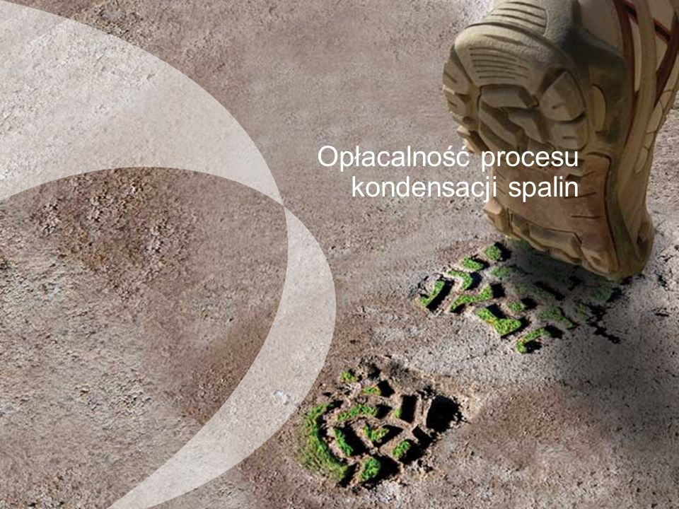 Yhteenveto Opłacalność procesu kondensacji spalin