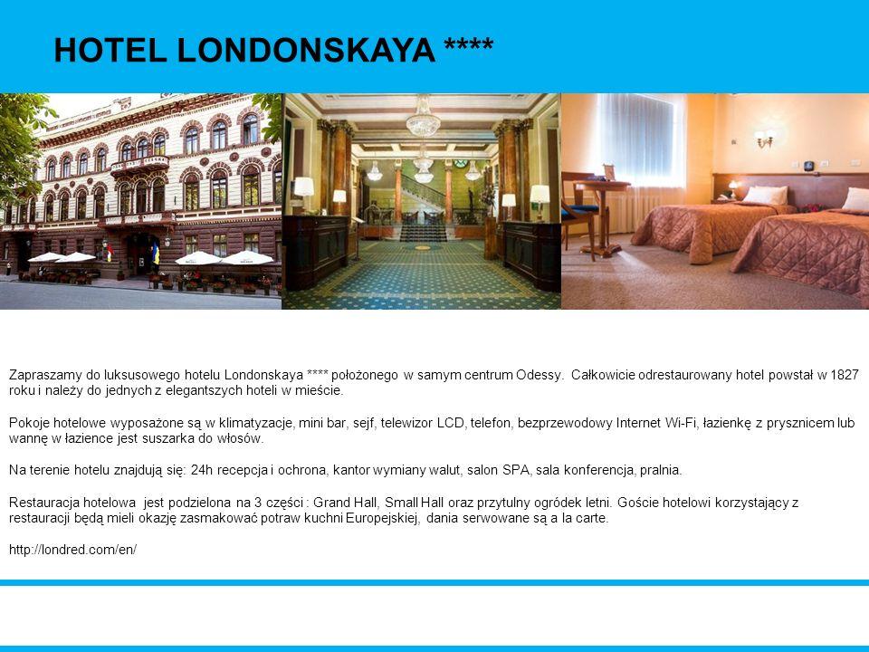 HOTEL LONDONSKAYA ****