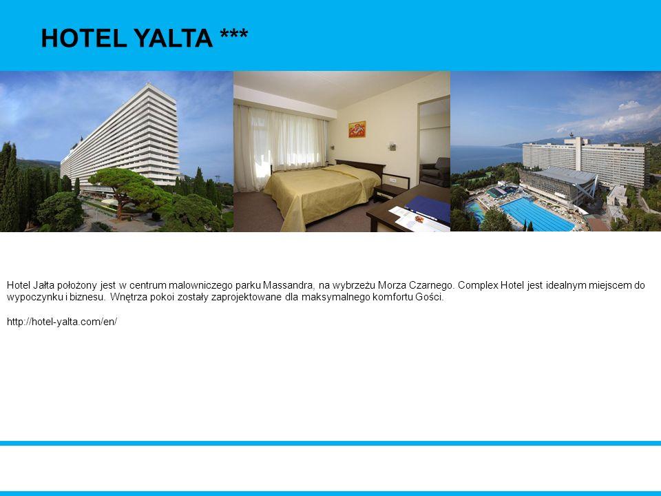 HOTEL YALTA ***