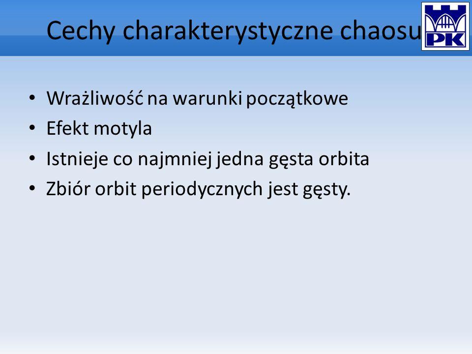 Cechy charakterystyczne chaosu