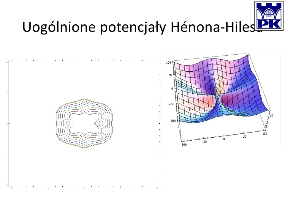 Uogólnione potencjały Hénona-Hilesa