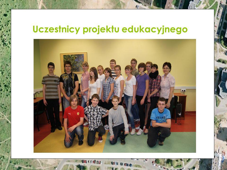 Uczestnicy projektu edukacyjnego