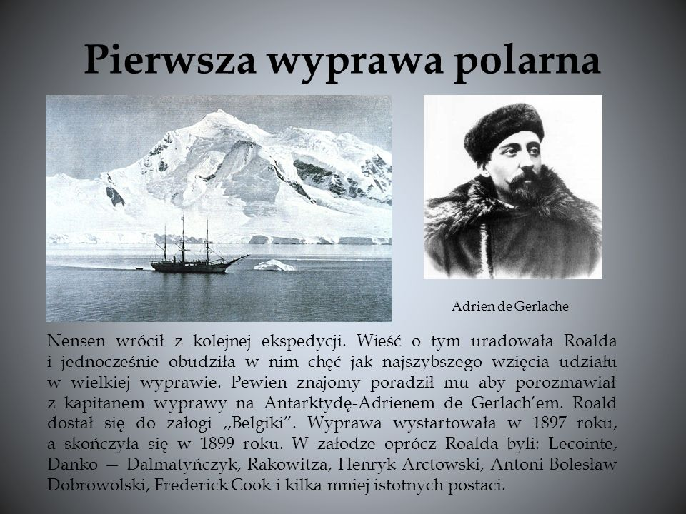 Pierwsza wyprawa polarna