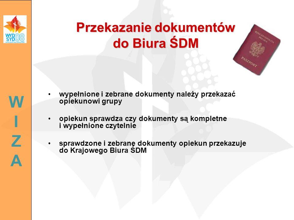 Przekazanie dokumentów do Biura ŚDM