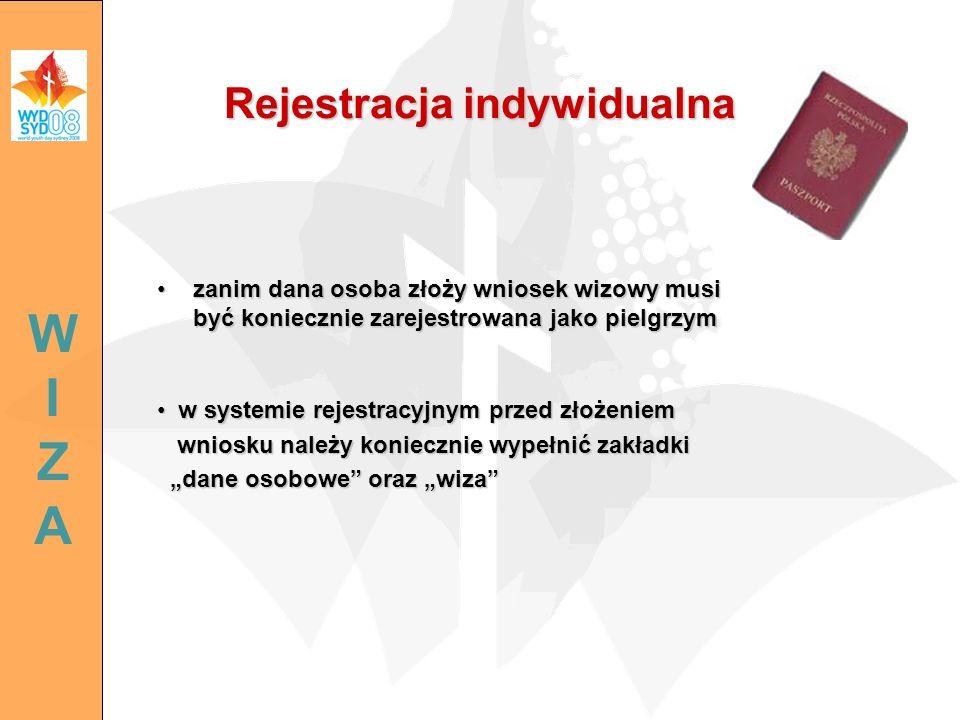 Rejestracja indywidualna